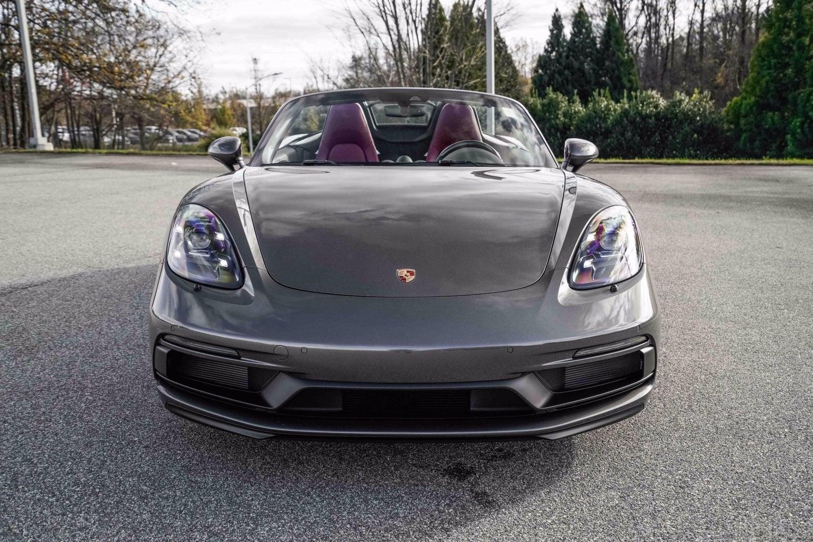 2021 Porsche 718 Boxster Gts 4 0 Greensboro Nc Raleigh Winston Salem Durham North Carolina Wp0cd2a82ms232157