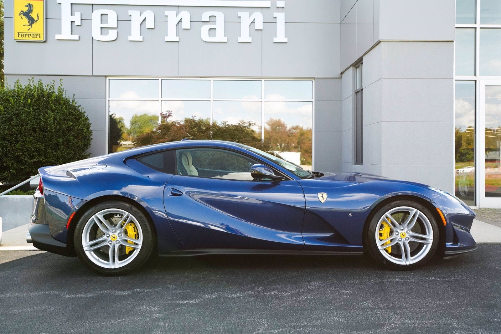 2018 Ferrari 812 Superfast Coupe Greensboro Nc Raleigh Winston Salem Durham North Carolina Zff83cla6j0233626